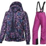 Зимний мембранный костюм куртка и полукомбинезон Crivit для девочек