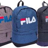 Рюкзак городской Fila 1818 ранец Fila размер 40x32x14см, 3 цвета