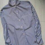 Оригинальная витажная рубашка в полоску