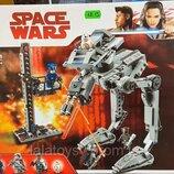 Конструктор Bela 10912 Star Wars Звездные войны Вездеход AT-ST Первого Ордена, аналог Lego Star Wars
