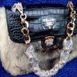 Распродажа стильная сумочка рrada.