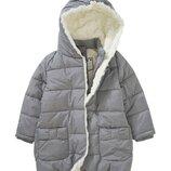 Детская зимняя куртка с мехом для девочки Topolino Германия Размер 122