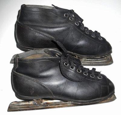 Ледовые коньки с ботинками Ссср 1959 год