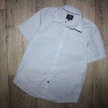 Нарядная шведка рубашка светлая C&a here&here 13-14 лет, рост 158-164 см.