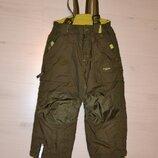 Теплые штаны, лыжные штаны, полукомбинезон H&M рост 116 см на 5-6 лет.