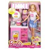 Набор кукла Барби магазине сладостей Barbie careers bakery shop
