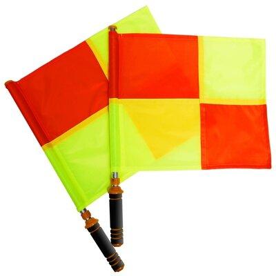 Комплект судейских флагов 0475 флаги футбольного арбитра размер 39х33см