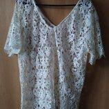мереживна блузка 18 розмір