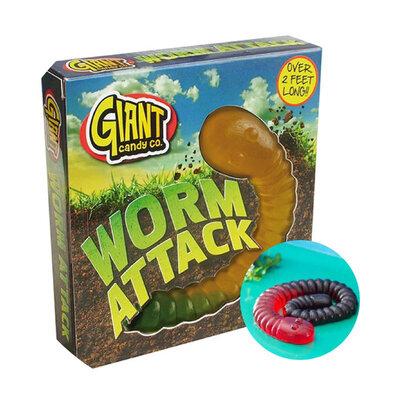 Жевательный мармелад Giant Worm Attack 800g.