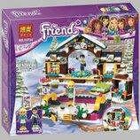 Конструктор Bela 10730 Горнолыжный курорт каток аналог LEGO Friends 41322 , 313 дет