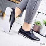 Туфли женские Classic черные кожа