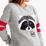 Вязаный свитер на девочку 9-10 лет C&A Германия Размер 134-140 оригинал