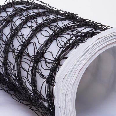 Сетка для волейбола с металическим тросом P01 размер 9,5x1м, ячейка 12x12см