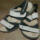Босоножки сандали детские черные с серым р. 32 Inblu