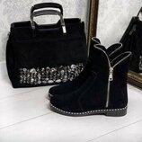 Ботинки, ботинки кожаные, Угги, Сапоги, кроссовки