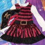 Карнавальное платье Пиратка 4-6 лет.
