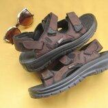 Удобные сандалии,натуральный нубук,Rocky,европейский р.40,5,стелька 26.5 см