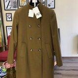 Теплое пальто Zara оригинал