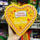 Подарочный набор в форме сердце Ferrero Kusschen