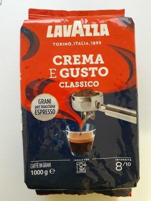Итальянский кофе Lavazza crema e gusto оригинал Италия