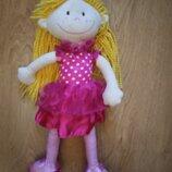 Мягконабивная кукла мягкая плюшевая.