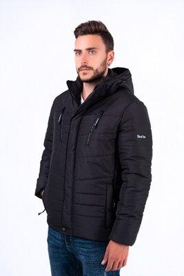 Распродажа Мужская зимняя куртка от бренда TeraFox. Черная.