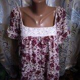 Нежная блуза с кружевом Matalan