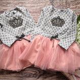 Красивое платье для малышек