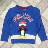 Красивый фирменный свитер на мальчика