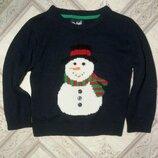Красивый фирменный свитер для мальчика на рост 122см