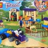 Конструктор Lari Bela 11197 Friends Френдс Конюшня для жеребят Мии, аналог Lego Friends 41361