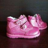 Ботинки кожаные Kellaifeng