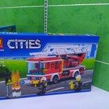 Новый конструктор Лего пожарная машина