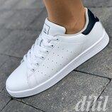 Женские кроссовки кеды Restime белые модные, мягкие, удобные