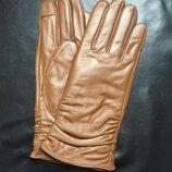Женские кожаные перчатки с сенсорным экраном Fashion Plus
