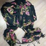 Цветной, брендовый шарф, палантин.Бренд H&M