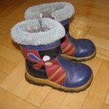 Детские зимние ботинки на овчине, р. 31