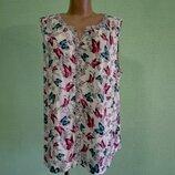 Блуза блузка легкая TU , р. 52 - 54 . Вискоза