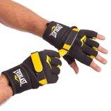 Перчатки с бинтом внутренние гелевые из неопрена Elast 0400 размер M-L