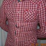 Брендовая стильная нарядная рубашка сорочка .Diesel. м-л .