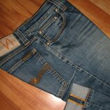 28x34 джинсы Nudie - Tight Long John