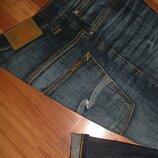 30x34 джинсы Nudie - Thin Finn
