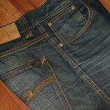 32x32 джинсы Nudie - Low Slim Jim