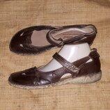 40р-26см туфли Josef Seibel ширина стельки 8.8 мягкая стелька