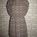 стильное платье туника р-р Л-14 бабочки черепа Atmosphere
