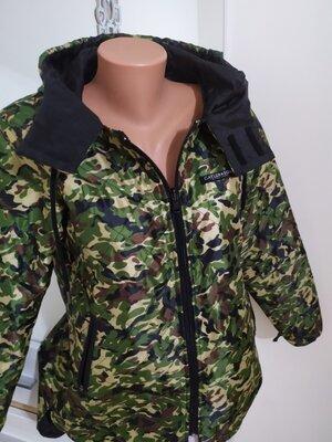 милитари камуфляжная хаки военная защитная куртка ветровка плащ олимпийка женская