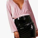 Очень красивая стильная блуза от BOOHOO рр 16 наш 50