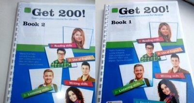 Get 200. Book 1, 2. Учебник. Ответы. Подготовка к Зно.