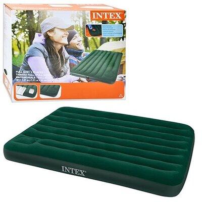 Надувной матрас Intex 66928 с насосом 137-191-22 см