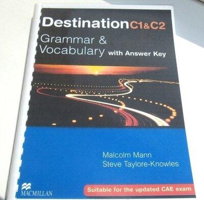 Destination В1, B2, С1- С2. Grammar and Vocabulary. Лучшая цена.